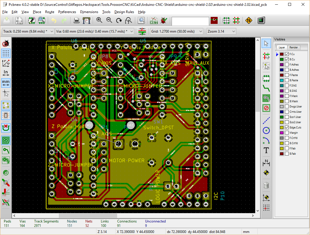 Kicad Exporting As Svg Manchester Hacspace Laser Pcb Border Around The Circuit Image Cut Board To Size Clean Copper Export Top Layer